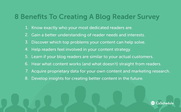 8 Benefits To Creating A Blog Reader Survey