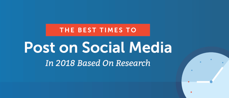 The Best Times to Post on Social Media in 2018 Based on Research