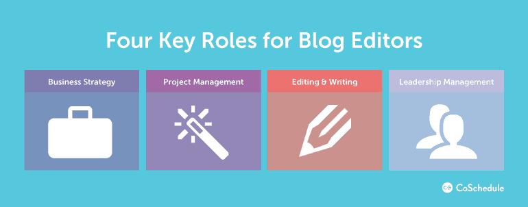4 Key Roles for Blog Editors