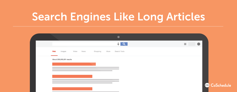 Blog post length seo