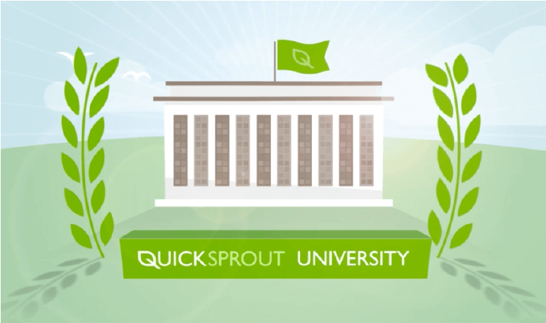 Logo for Quick Sprout University.