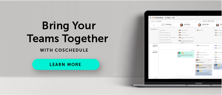 Collaborate With CoSchedule Today