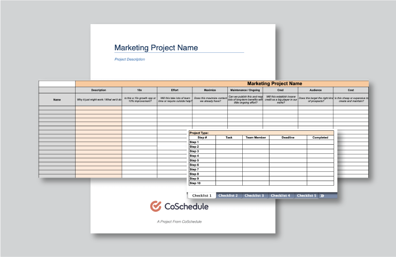 How to Make Marketing Team Management Easy (Free Templates)