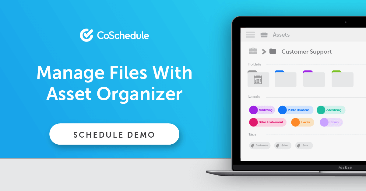 Manage Files With Asset Organizer