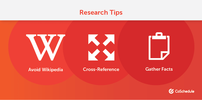 3 Blogging Research Tips