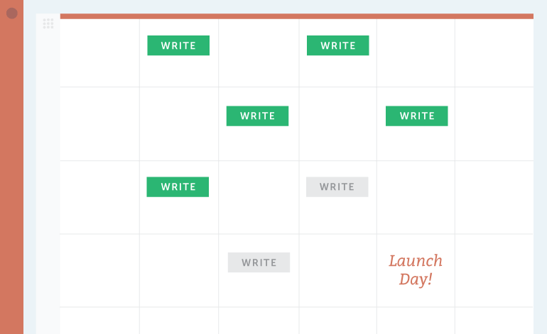 Mark your Ship Date on your calendar