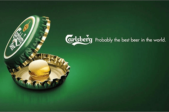 Example of an ad using subtle humor