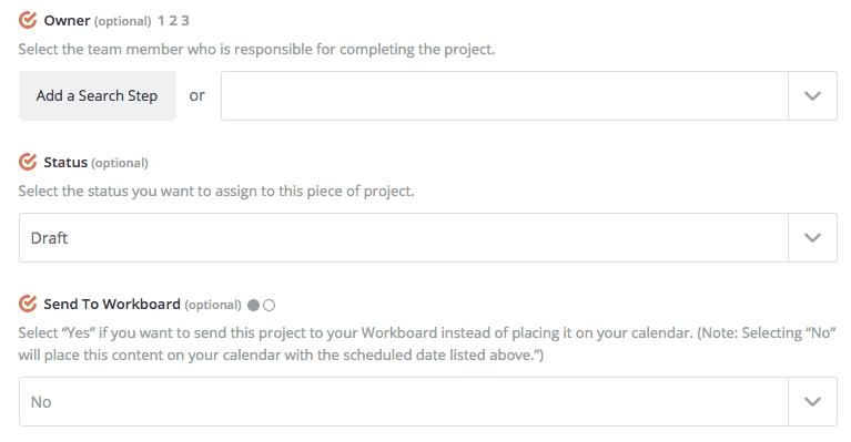 Set Up CoSchedule Project in Zapier part 2