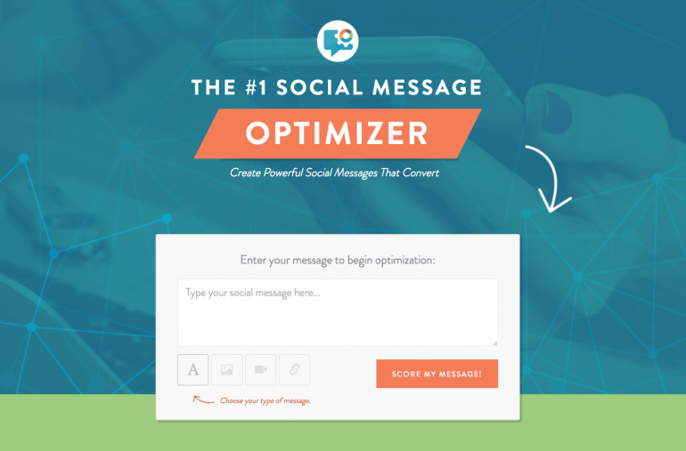 Check out the Social Message Optimizer