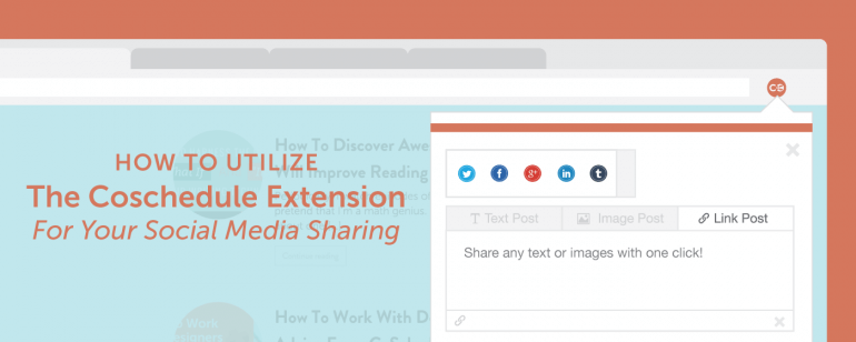 Chrome extension social curation tool