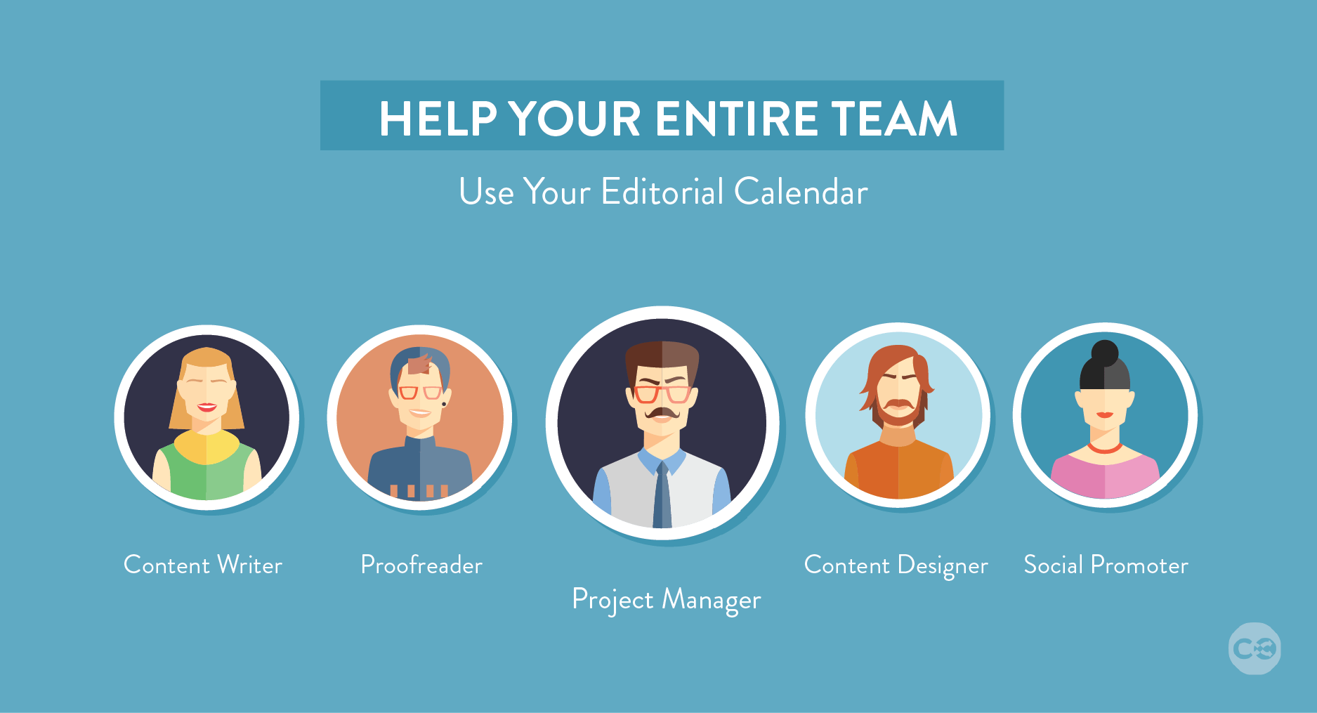 content marketing editorial calendar team