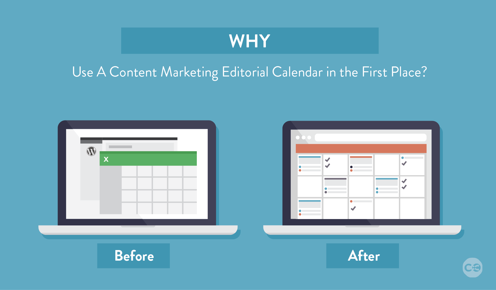 why use a content marketing editorial calendar