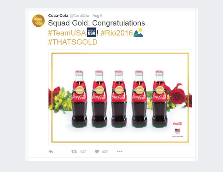 Coca-Cola Olympics Post