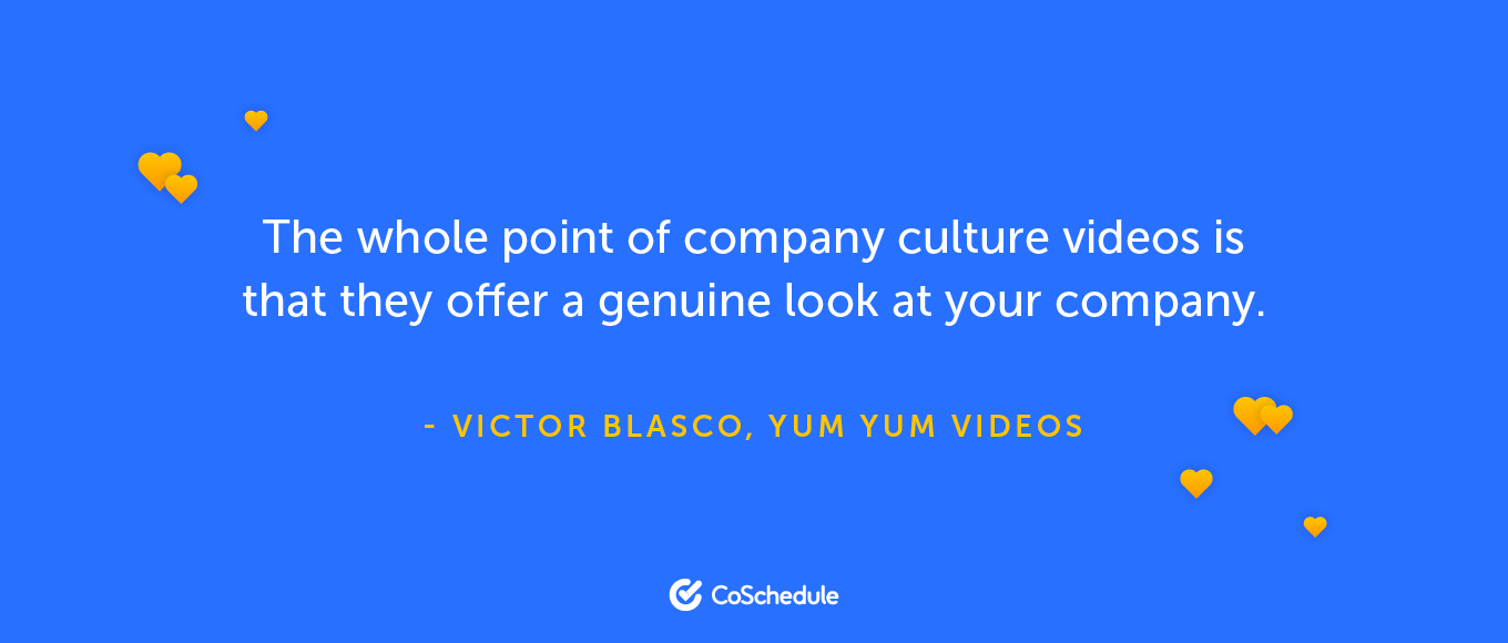 A quote about company culture