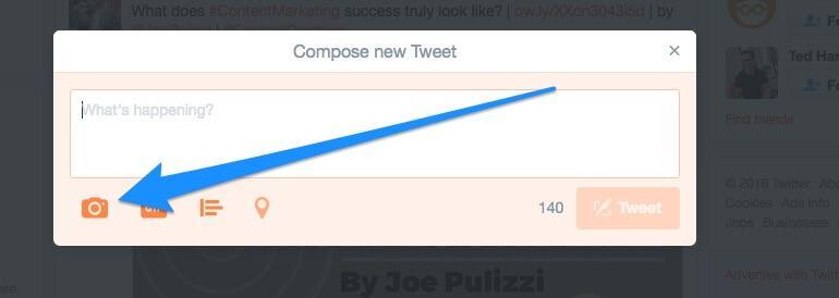 Compose New Tweet window