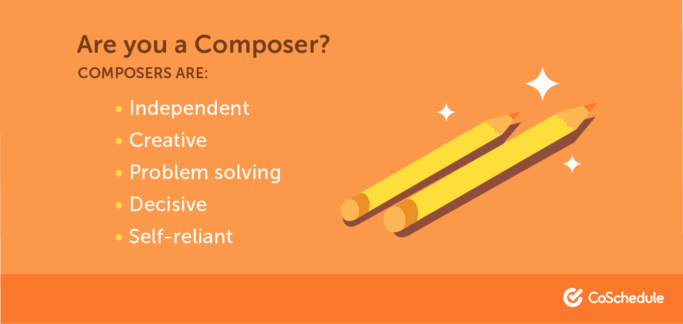 A list of traits that make up a composer