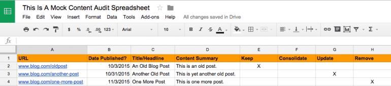 content-audit-spreadsheet-screenshot