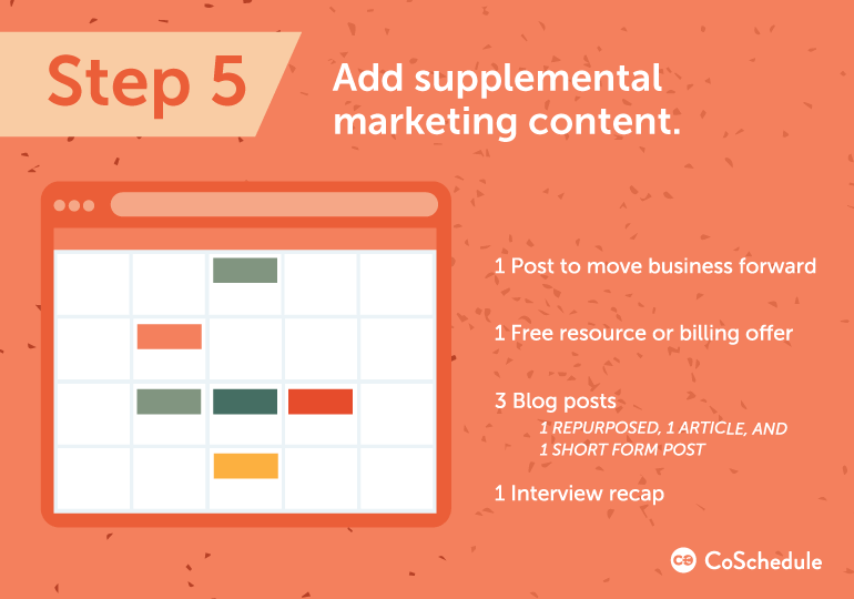 include supplemental content in your content creation process