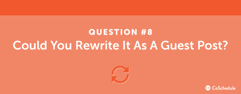 content ideas question eight