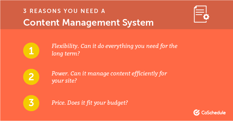 3 Reasons You Need a Content Management System