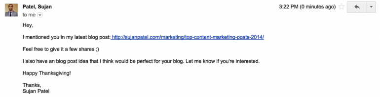 use blogger outreach in your content marketing promotion strategy