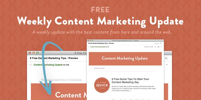 content marketing update