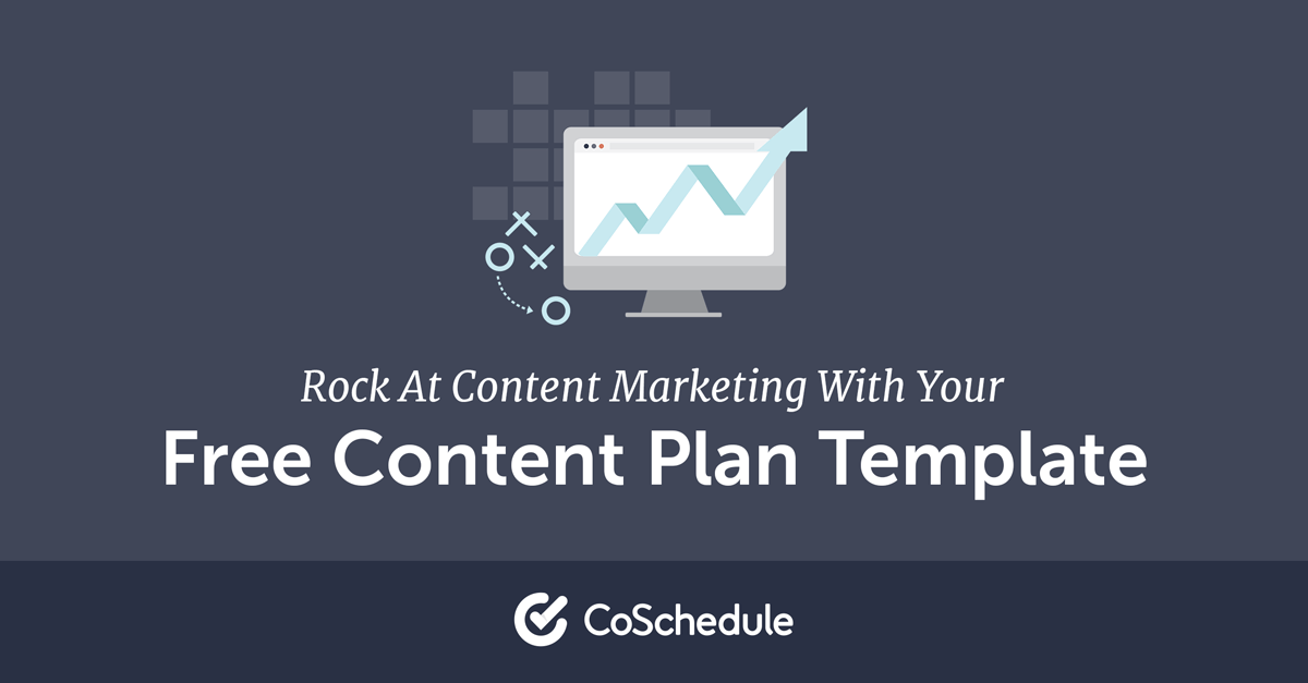 Free content marketing plan template maxwellsz
