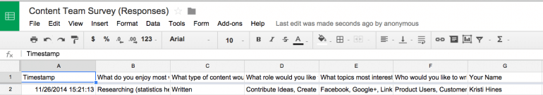 content-team-survey-responses