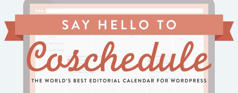 The Social Media Editorial Calendar For WordPress