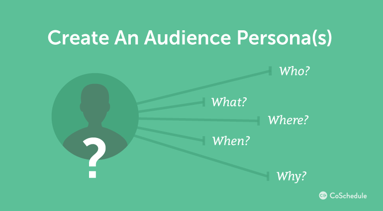 How To Create An Audience Persona