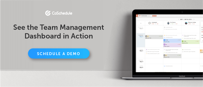 See Team Management Dashboard in Action