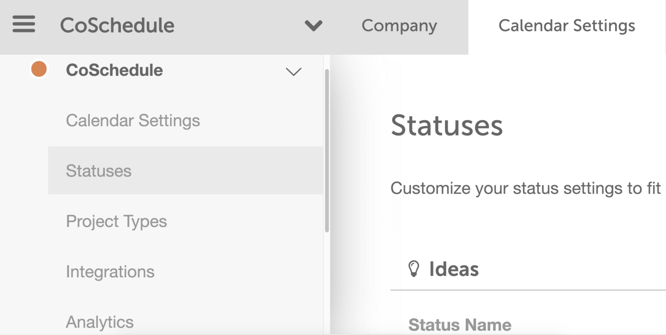 Where to find Custom Status settings