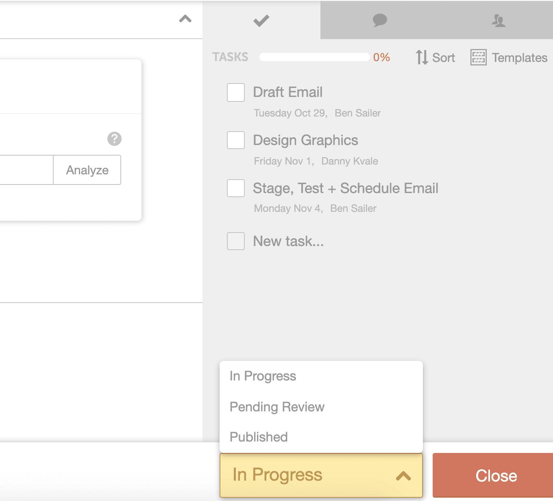Customize your task progress