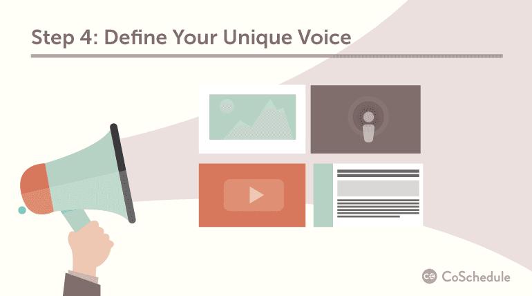 Step 4: Define Your Unique Voice