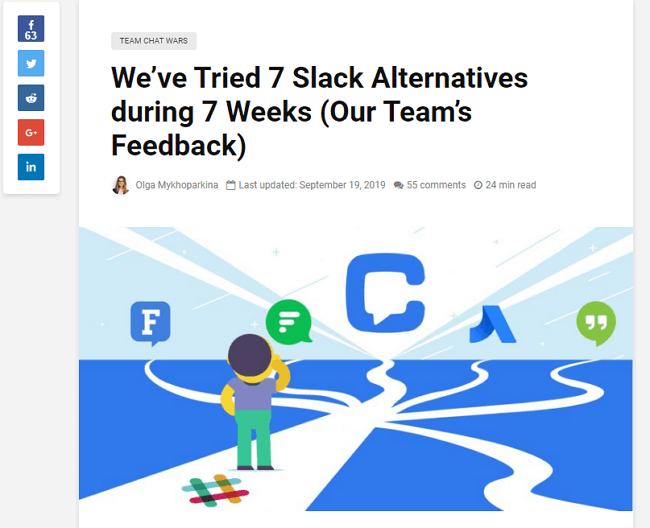 We're Tried 7 Slack Alternatives During 7 Weeks (Our Team's Feedback), Chanty screenshote