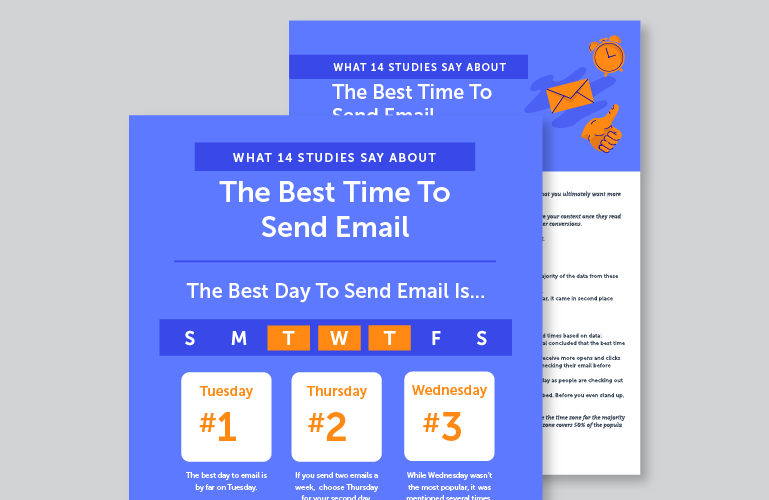 Get Your Free Best Time To Send Email Kit!