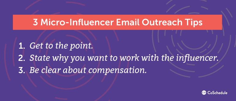 3 Micro-influencer Email Outreach Tips