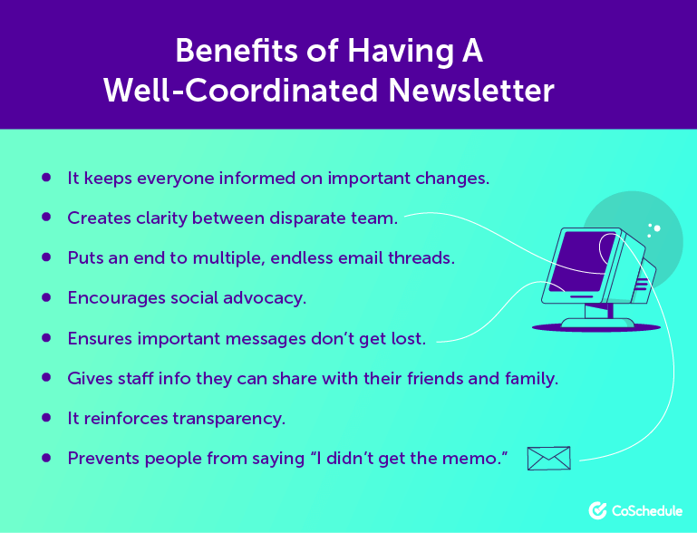 Benefits of Having a Coordinated Newsletter