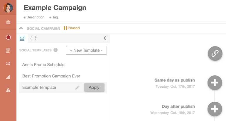 An example campaign