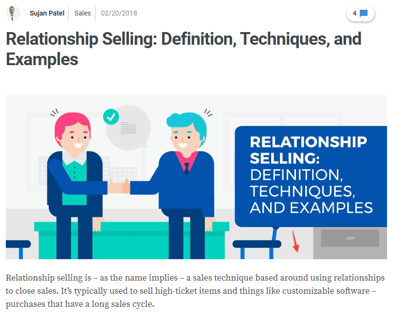 Relationship Selling: Definition, Techniques, and Examples
