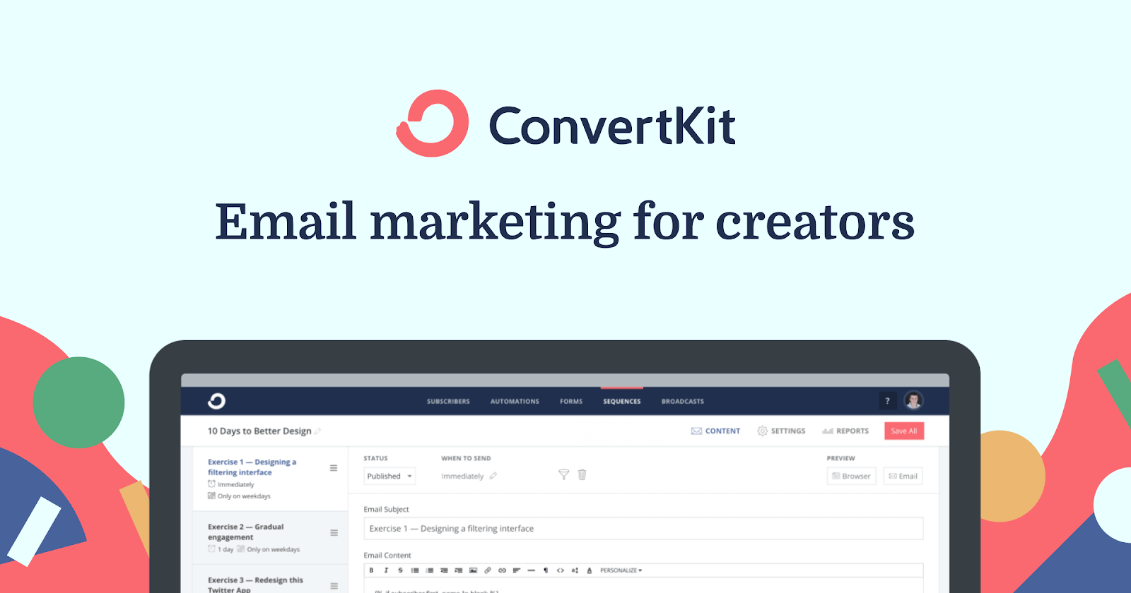 ConverKit - email marketing for creators