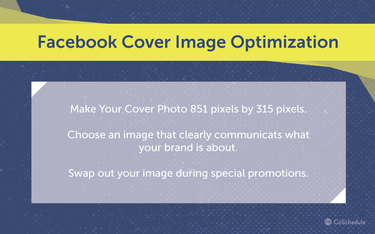 Tips for Facebook cover photo optimization