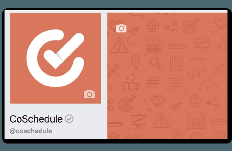 Example of a Facebook profile photo