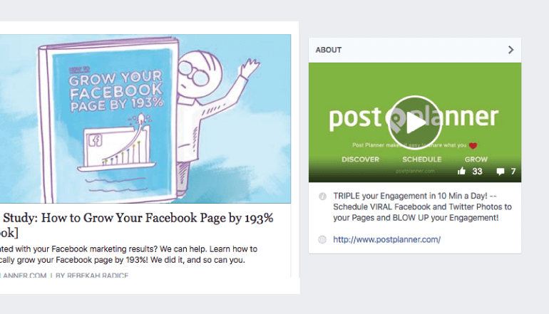 This is what Facebook Featured Videos look like.