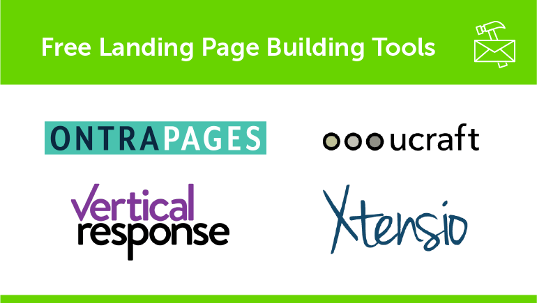 Free Landing Page Building Tools
