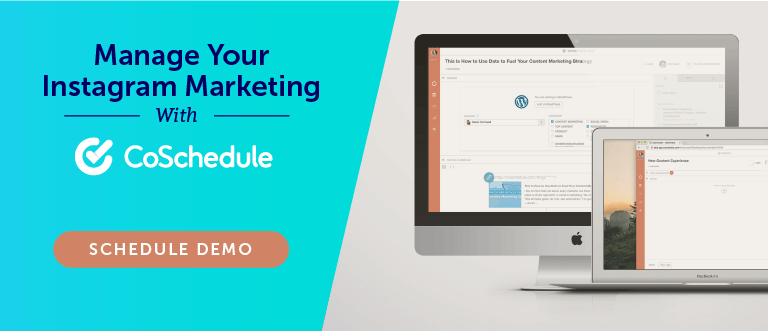Manage Instagram Marketing With CoSchedule