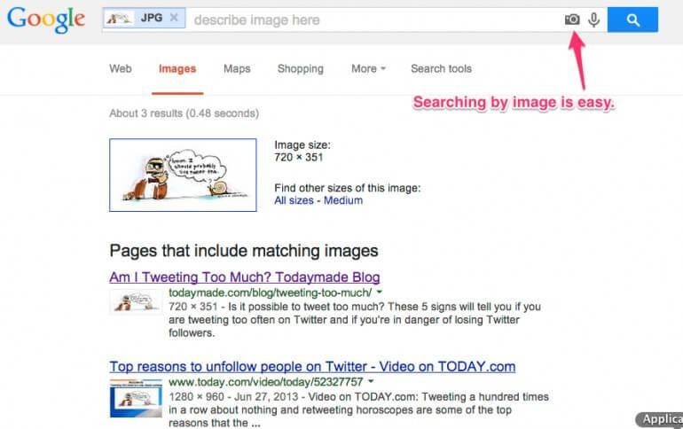 google image checker