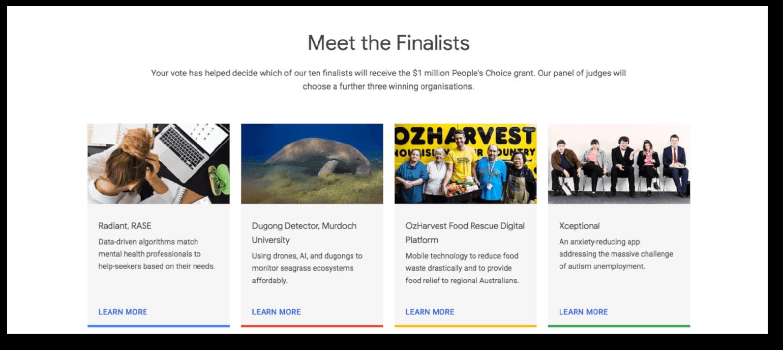 Google PR Campaign Example