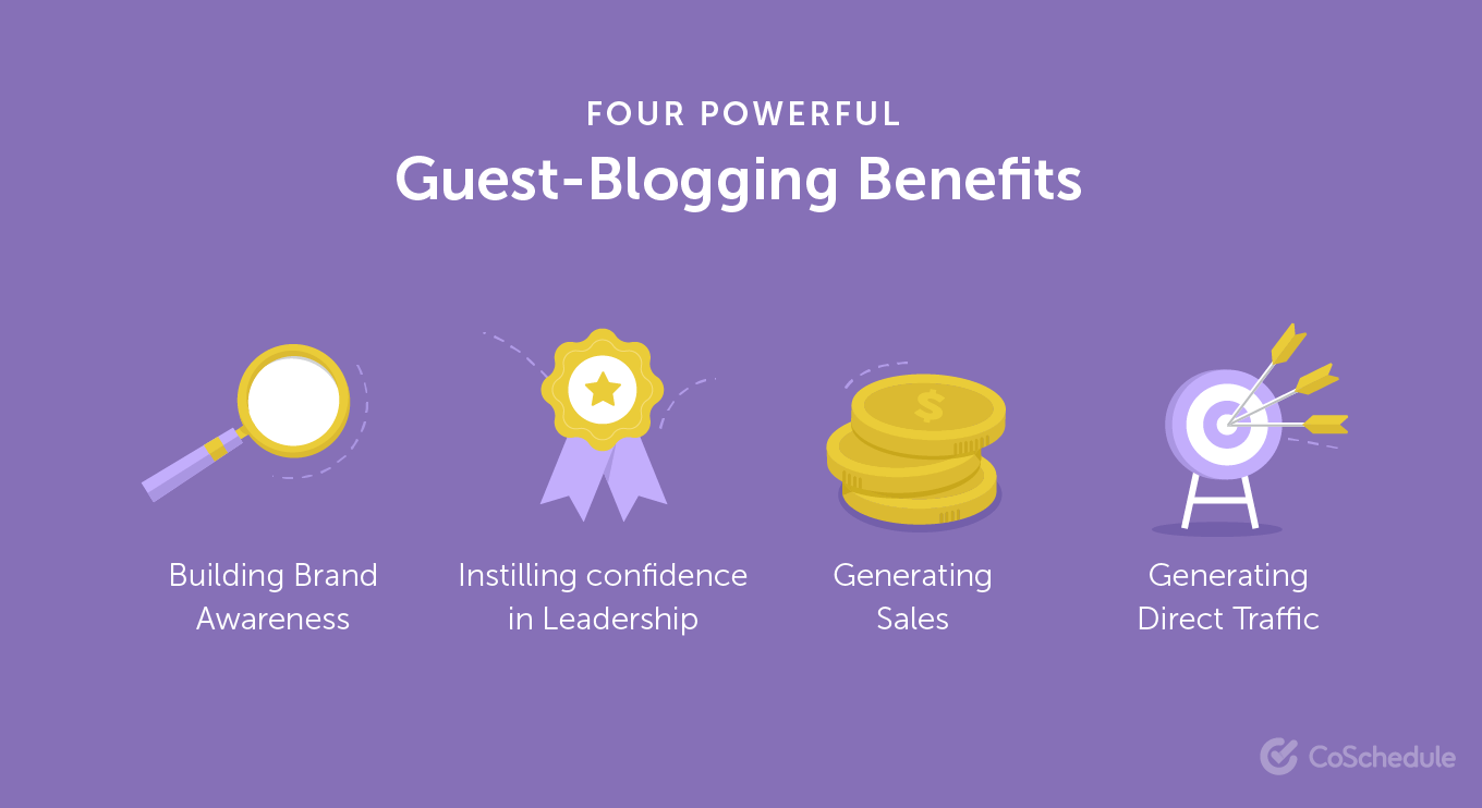 4 Powerful Guest Blogging Benefits