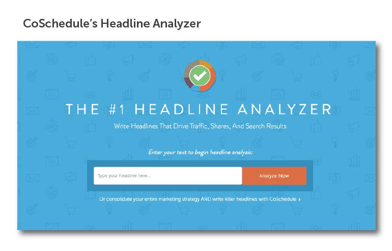 Screenshot of the Headline Analyzer